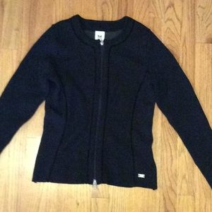 Dale of Norway Zip Wool Sweater